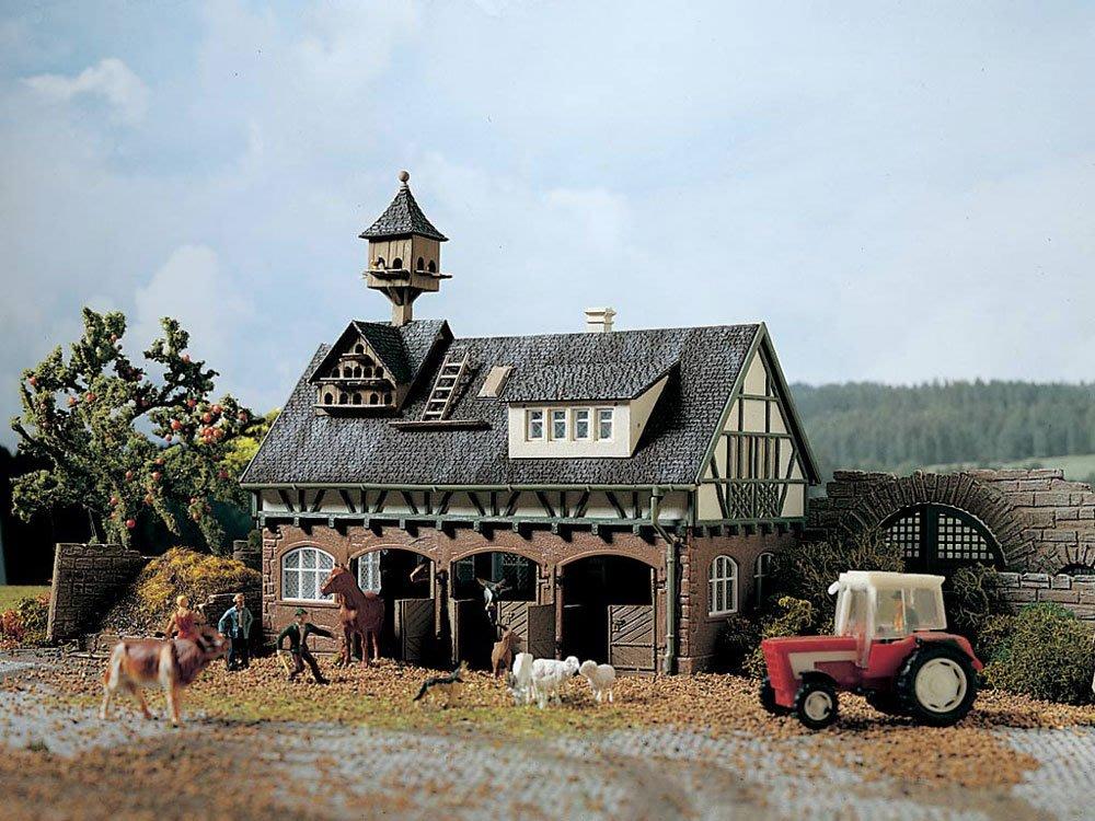 傑仲 (有發票) 博蘭 公司貨 VOLLMER 場景組 Stall mit Taubenschlag 43726 HO