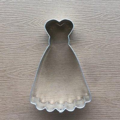 德國製 Stadter Cookie Cutter Skirt 裙子餅乾 晚禮服餅乾 餅乾模型 新品