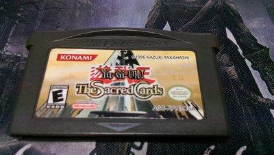 美國英文版 GBA 遊戲王 神聖的卡片 Yu-Gi-Oh! Sacred Cards Game Boy 卡帶 二手