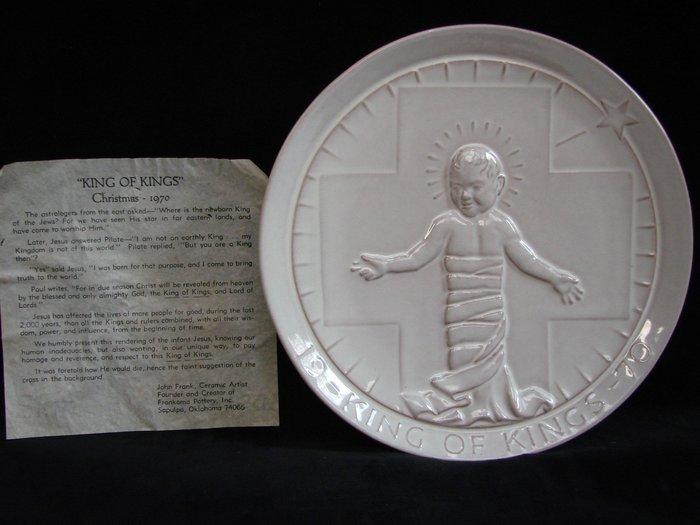 ➷巨降特賣➷60一元起標·FRANKOMA·KING OF KINGS【1970年 John Frank簽名盤】A80