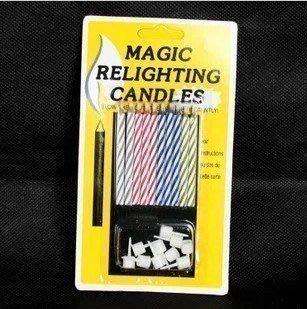 發光派對屋@整人吹不滅的蠟燭 生日蠟燭