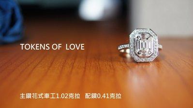 鈿合珠寶新款上架歐式風格鑽戒