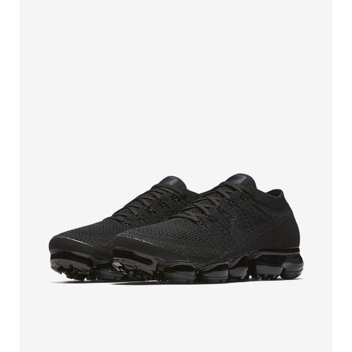 Nike VaporMax Triple Black(849558-011)休閒運動慢跑鞋男女