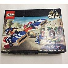 全新樂高 lego 7186 Star Wars 星際大戰 watto's junk yaro 盒有玻損 連 hottoys 袋 聖誕節禮物 gift
