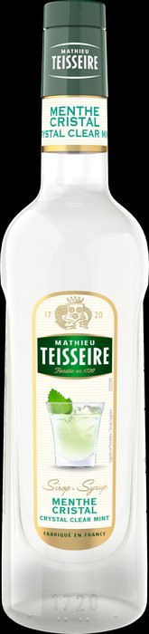 Teisseire 糖漿果露-白薄荷風味 Cristal Clear Mint 法國天然 700ml-【良鎂咖啡精品館】