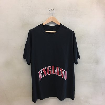 (Used) REPRESENT England Cotton-Jersey T-Shirt 黑色 短TEE