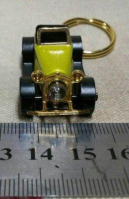 龍廬-自藏二手出清~台灣製作合金古董老爺車造型鑰匙圈/只有一個