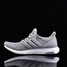 D-BOX Adidas Ultra Boost 灰色 白 編織 百搭 透氣慢跑鞋  男女運動鞋