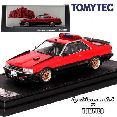 TOMY 多美卡 TOMICA TOMYTEC TLV 1/43 T-IG4322西部警車RS-3