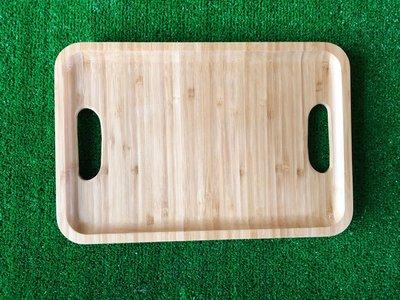 竹藝坊-B04~1。握把端盤/拉麵端盤/冰品托盤/竹盤/木盤(另外其它尺寸)正面可刻LOGO