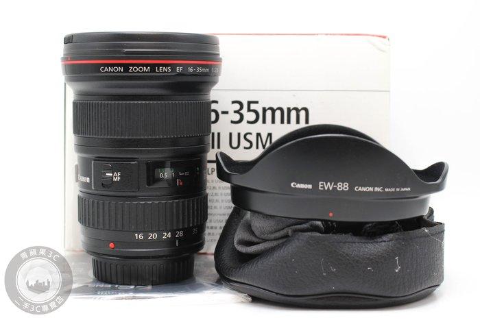 【高雄青蘋果3C】Canon EF 16-35mm f2.8 L II USM UY鏡 二手單眼鏡頭 #56949