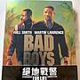 (全新未拆封)絕地戰警3 Bad Boys For Life 4K UUD+藍光BD 雙碟限量鐵盒版(得利公司貨)