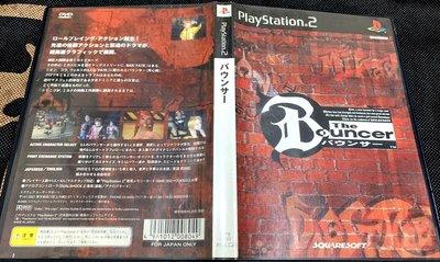 幸運小兔 PS2遊戲 PS2 絕命保鑣 THE BOUNCER PlayStation2 日版 A8