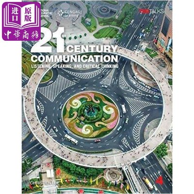 21st Century Communication 4 英文原版 21世紀交流4:聽、說、批判性思維:學生書帶線上練習