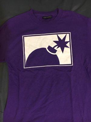 The Hundreds 紫色  Logo T-shirt