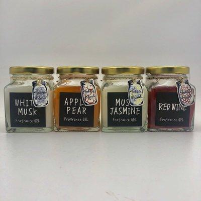 美國愛買 John's Blend 香氛系列 香氛膏 白麝香/紅酒/麝香茉莉/蘋果梨子 四款香味可選