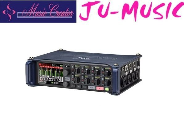 造韻樂器音響- JU-MUSIC - Zoom F8N 錄音裝置 錄音設備 !!『公司貨,免運費』