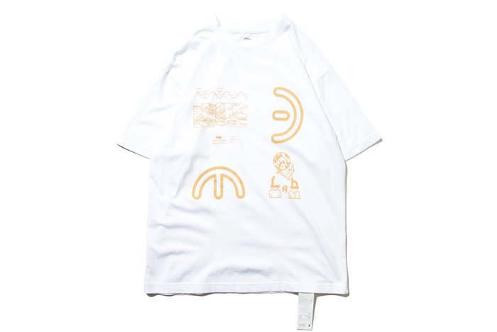 """[ LAB Taipei ] DeMarcoLab """"DELECTRICITY TEE"""" (White)"""