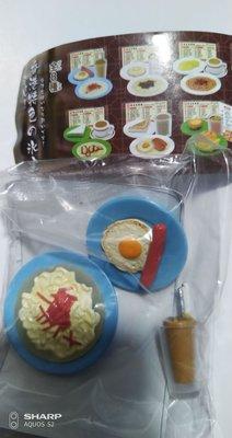 香港茶餐廳 特色早餐 扭蛋 A餐 火腿通粉 腸仔 煎蛋 包郵