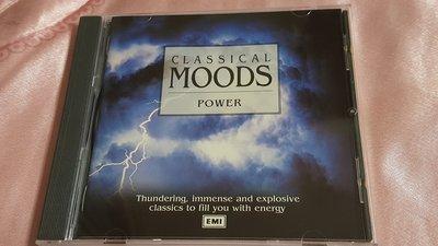 R古典(二手CD)CLASSICAL MOODS~POWER~無ifpi(古)