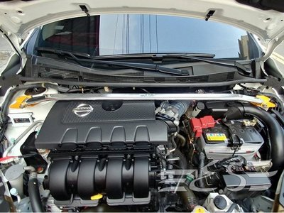 阿宏改裝部品 E.SPRING NISSAN SUPER SENTRA 鋁合金 引擎室拉桿 3期0利率
