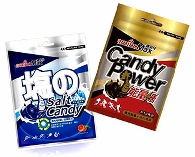 aminoMax 邁克仕 Salt Candy 海鹽軟糖 能量糖 三鐵 馬拉松 單車