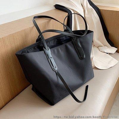 單肩包大包包女新款潮時尚大容量百搭大學生上課包托特包 日韓文藝包包 學院風可愛手提袋 生活購物袋多款多色可選