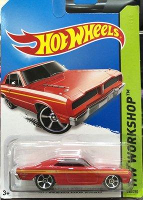 8絕版風火輪 Hot Wheels 道奇 1974 BRAZILIAN DODGE CHARGER 紅