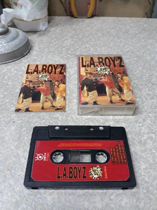 {詠鑫}-L-A-BOYZ-跳-1992年-波麗佳音唱片-附歌詞-不寄國外-8