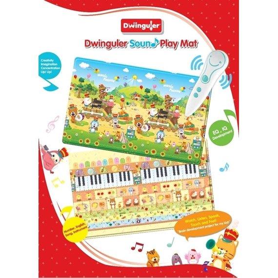 韓國康樂Dwinguler-PVC雙面點讀音樂遊戲地墊+點讀筆(230x140x1.5cm)111-8814