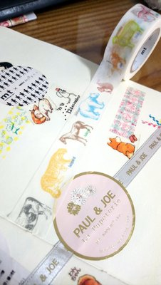 【R的雜貨舖】紙膠帶分裝 日本mt和紙膠帶 ex 動物速寫