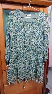 專櫃Five pence五個銅貨 目錄款長版連衣裙 (尺寸: 38,較寬版M-L皆可)