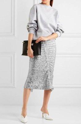 [我是寶琪] Preen by Thornton Bregazzi 銀色亮片裙子