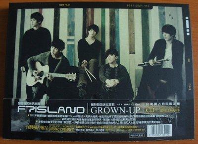 =(絕版二手) FTIsland 《GROWN-UP》台灣獨占初回限定盤 / CD+精裝紀念典藏相本 / 李洪基