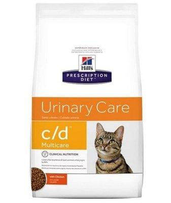 ✪第一便宜✪希爾思 貓C/D 貓用CD 貓咪處方泌尿道飼料 6KG/6公斤 (似皇家LP34)