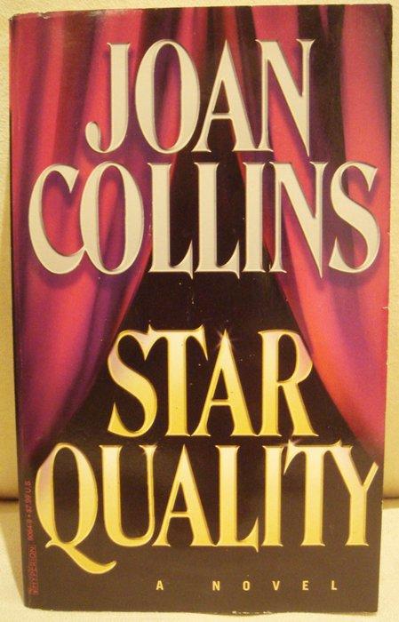二手書英文小說 JOAN COLLINS 瓊考琳絲【STAR QUALITY】,低價起標無底價!免運!