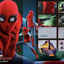 Hottoys Spider-Man (Homemade Suit Version) 蜘蛛俠配無人機 MMS552 會員 29/8訂單一張