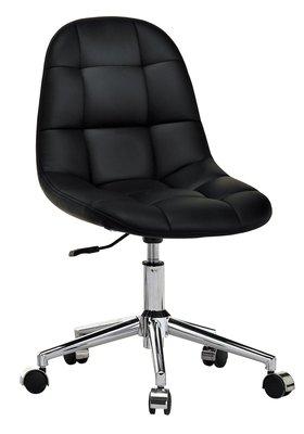 [歐瑞家具]JB-574-12 小而巧黑色造型轉椅/系統家具/沙發/床墊/茶几/餐桌椅/高低櫃/子母床/訂作家具/1元起