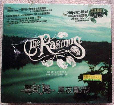 ◎2004全新CD+VCD未拆!雷斯魔-黑夜魔咒專輯-The Rasmus-Dead Letters-芬蘭黑暗魔界搖滾-
