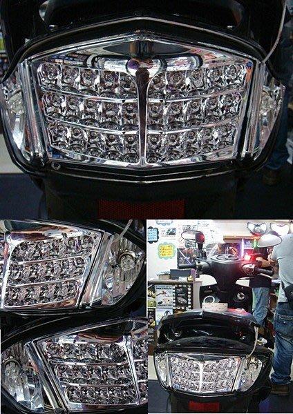 NEW CYGNUS X 新勁戰 五期噴射高質感 蜂巢尾燈組 高亮度LED (四期噴射 化油版 也可用) 可來店自取