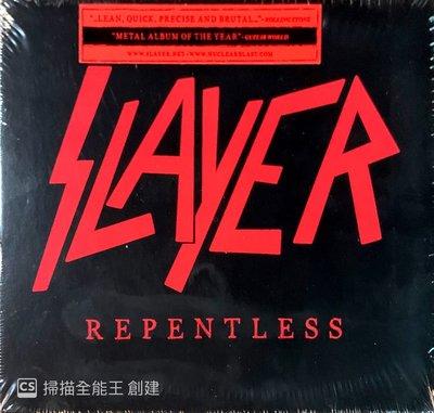 【搖滾帝國】美國鞭擊(Thrash)金屬樂團SLAYER Repentless 2015年發行 全新進口專輯
