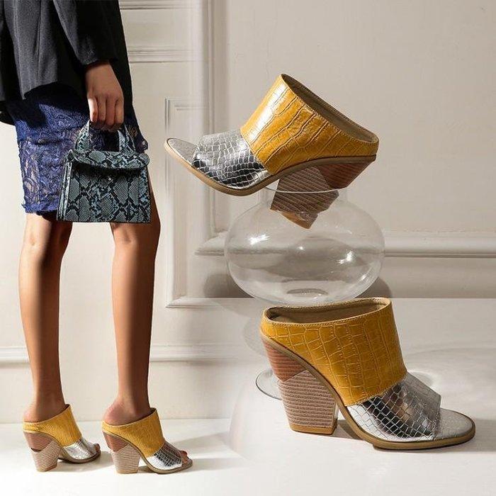 楔型涼鞋女新款百搭仙女風時尚ins潮夏配裙子厚底高跟涼拖 CDCX Y27