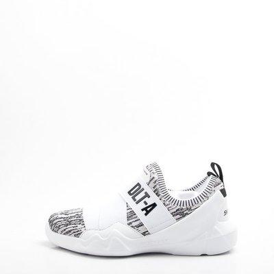 零碼出清~Skechers (女) 休閒系列DLT-A 休閒運動鞋-白 88888156WBK  現貨