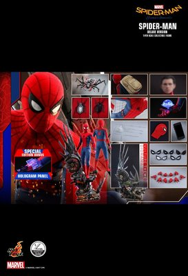 HOTTOYS HOT TOYS 玩具狂熱 蜘蛛俠 返校日 Spider Man Homecoming 1/4 1:4 Deluxe W/ Bonus Part