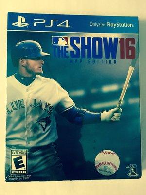 PS4 MLB The Show 16 MVP Edition 美版 特別版