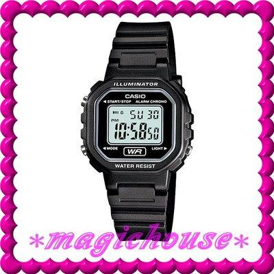 *夢幻精品屋*CASIO原廠公司貨~10年電池 兒童,學生電子錶LA-20WH-1A