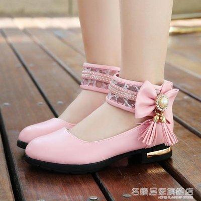 童鞋女童皮鞋公主鞋兒童單鞋中大童學生高跟鞋舞蹈鞋