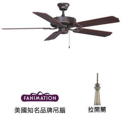 Fanimation Aire D'ecor 52英吋吊扇(BP200OB1)油銅色 適用於110V電壓