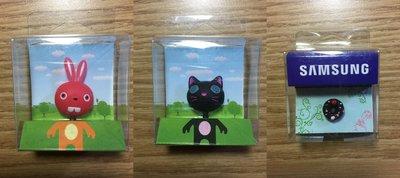 COCO RONI ~ Rabi & Cookie  & SAMSUNG Cake 耳機塞   三個一起出售