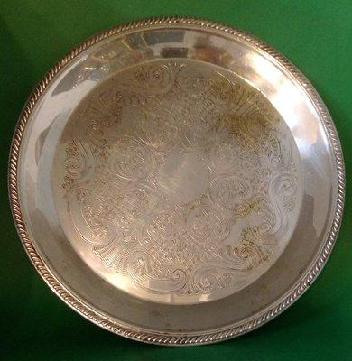 307 高級英國鍍銀盤 Antique Silver Plate Tea Pot tray.